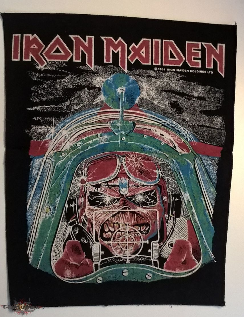 Iron Maiden - Aces High - Backpatch