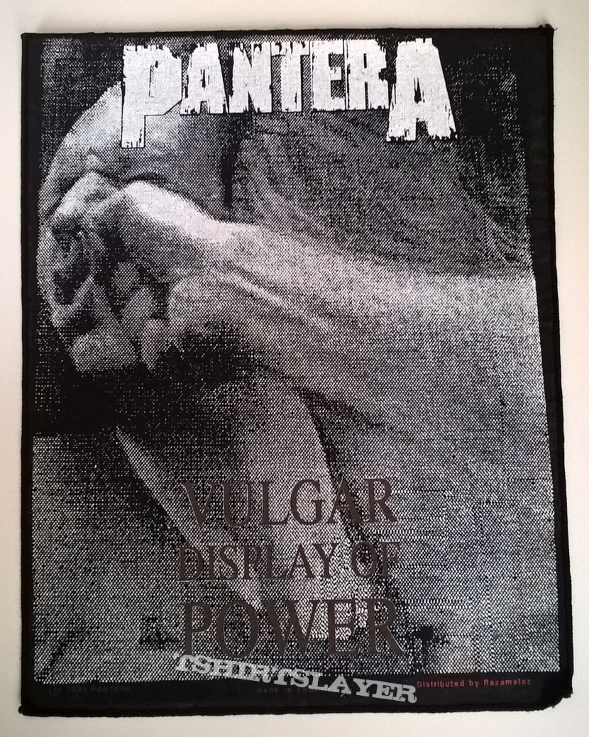 Pantera - Vulgar Display Of Power - Backpatch