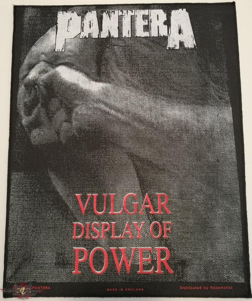 Pantera - Vulgar Display Of Power - Backpatch - 1993 (2)