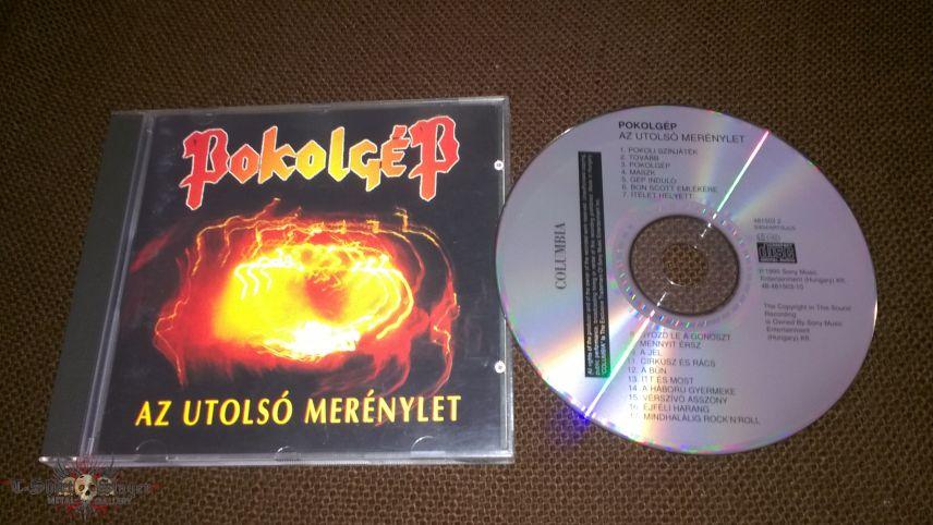 Pokolgép (Pokolgep) - Az utolsó merénylet CD