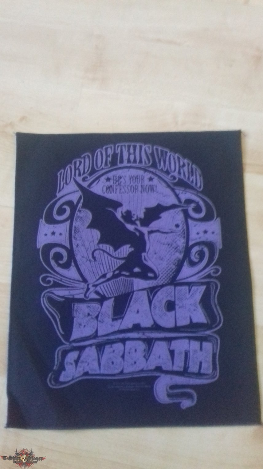 Black Sabbath - Lord of this world (Backpatch)