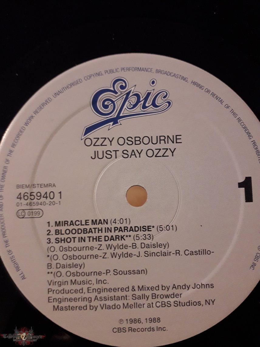 Ozzy Osbourne - Just Say Ozzy (EP)