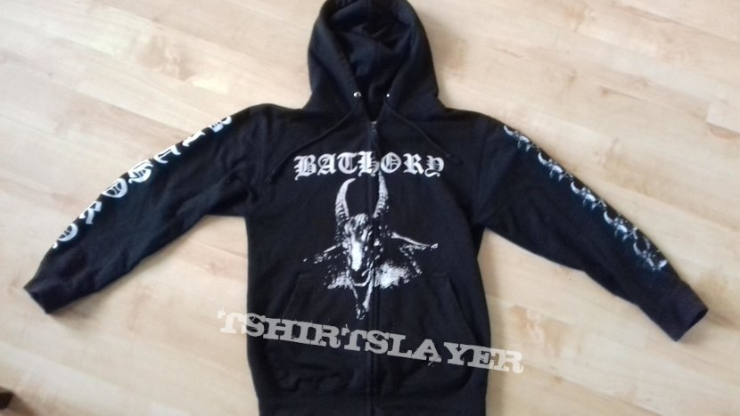Bathory - Bathory (Hooded zip jacket)