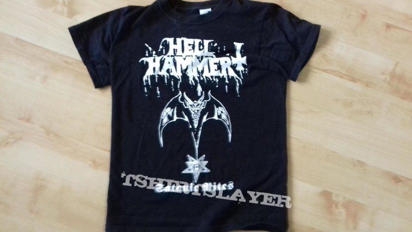 Hellhammer - Satanic rites (T-shirt)