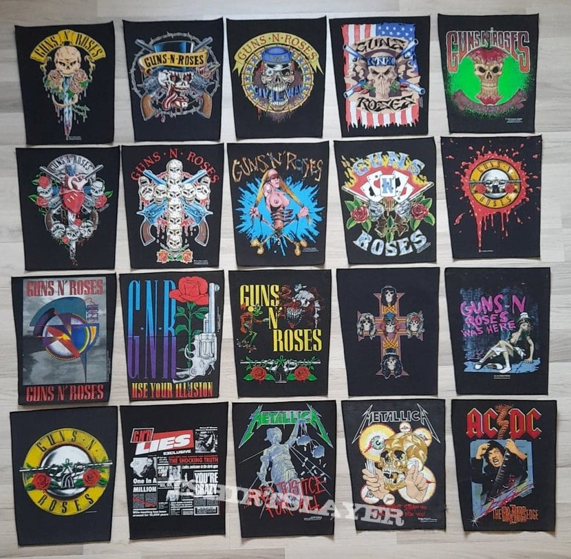 My Backpatch-Collection