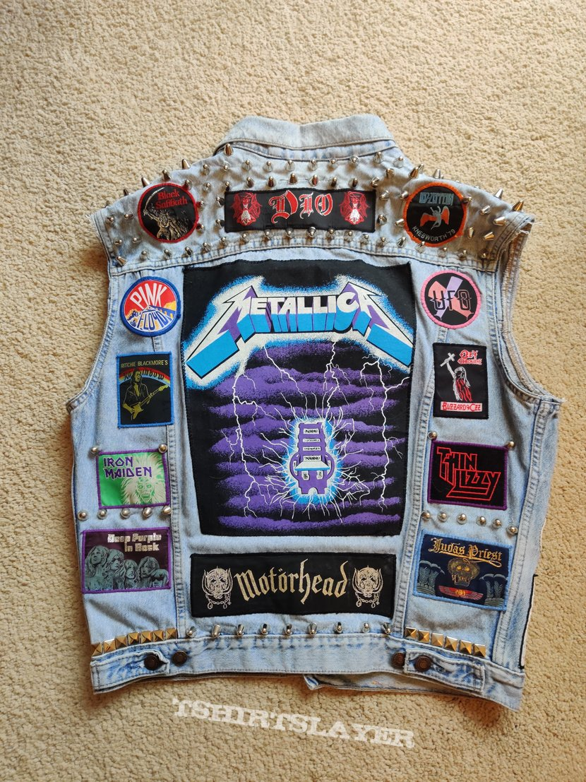 70s and 80s Pop, Rock and Metal tribute vest
