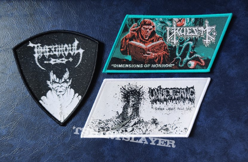 New PTP Patches for Death Metal vest #2