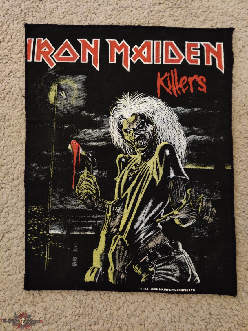 Iron Maiden - Killers Backpatch