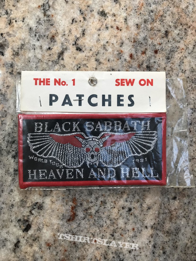 Black Sabbath - Heaven And Hell Patch