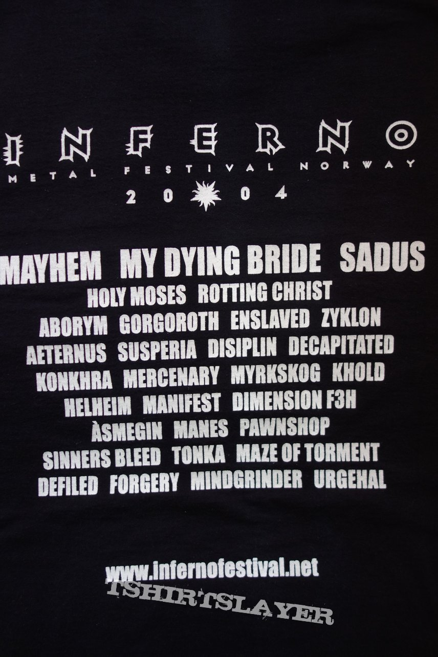 2004 Inferno Metal Festival - Oslo Norway TS