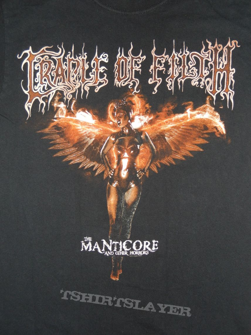 """Cradle Of Filth """"The Manticore and Other Horrors"""""""
