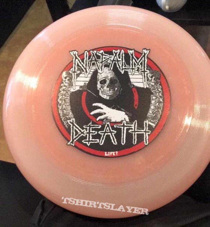 Napalm Death fresbee