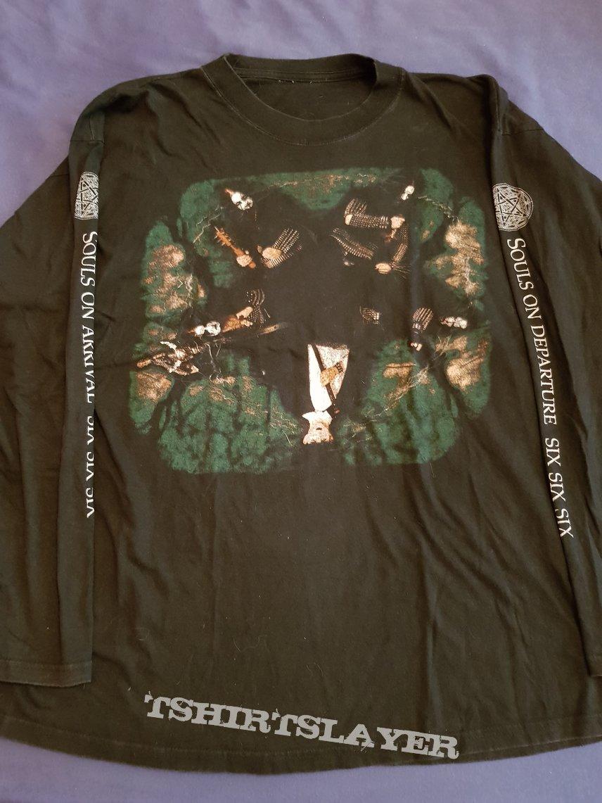 Dimmu Borgir Cunt Hunters 1997 Longsleeve Tshirtslayer