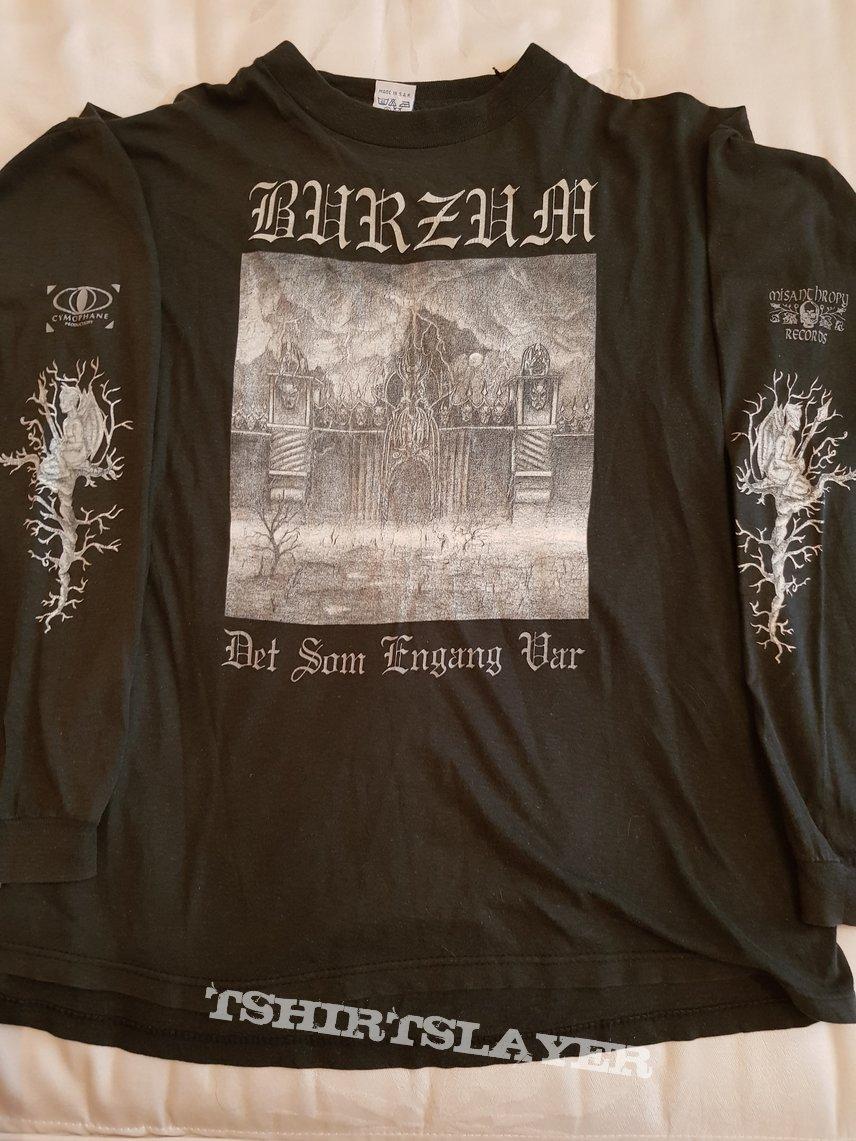 """Burzum """"Det Som Engang Var"""" longsleeve 1994 first print"""