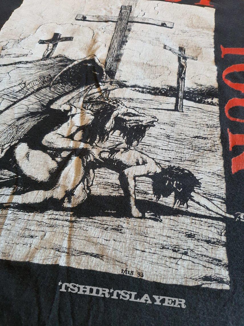 Fuck christ 1993 tour original shirt