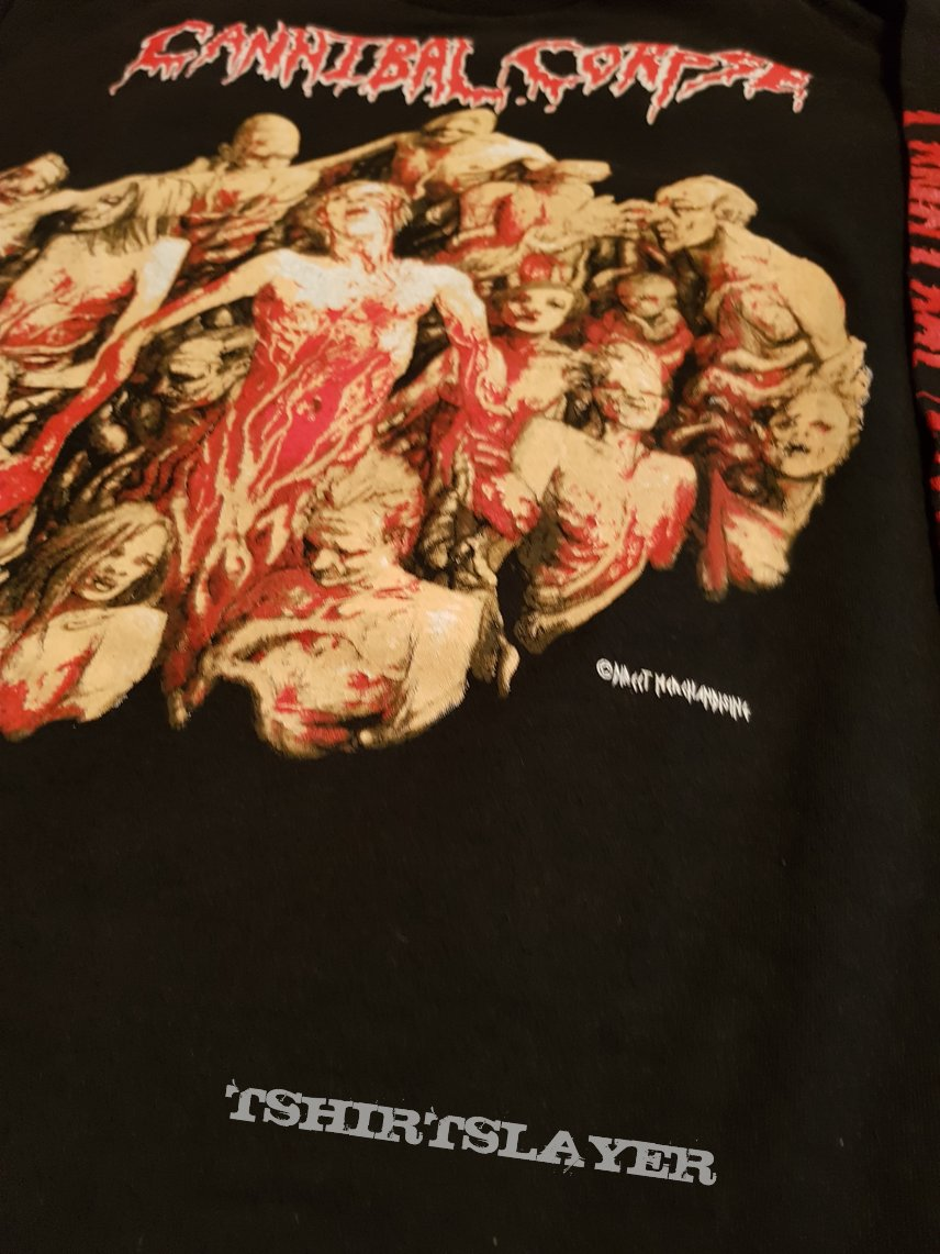 "Cannibal Corpse  ""The Bleeding"" L/S Shirt"