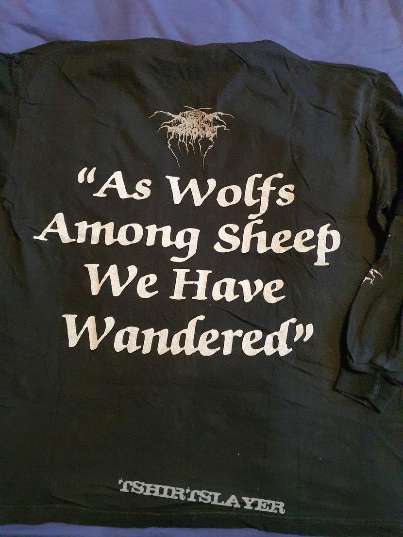"Darkthrone ""As Wolfs Among sheep we..."" 1996 longsleeve"