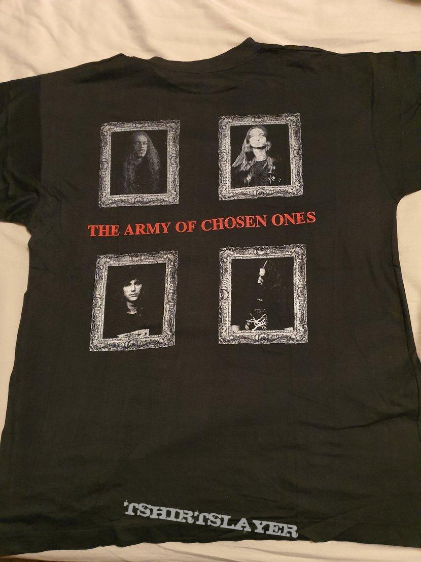 "Nightfall ""Macabre Sunsets "" 1994 shirt"