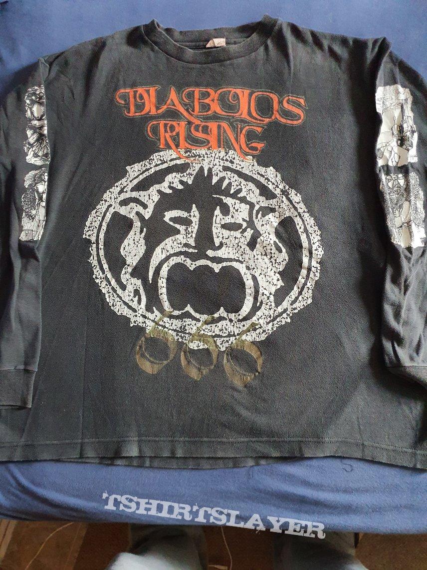 """Diabolos Rising """" 666 International """" 1994 Longsleeve"""