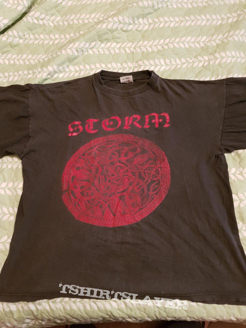 """Storm """"Norsk Nasjonal.."""" 1995 Moonfog shirt"""