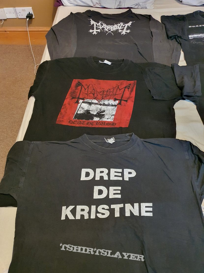 Collection of DSP - Euronymous print shirts