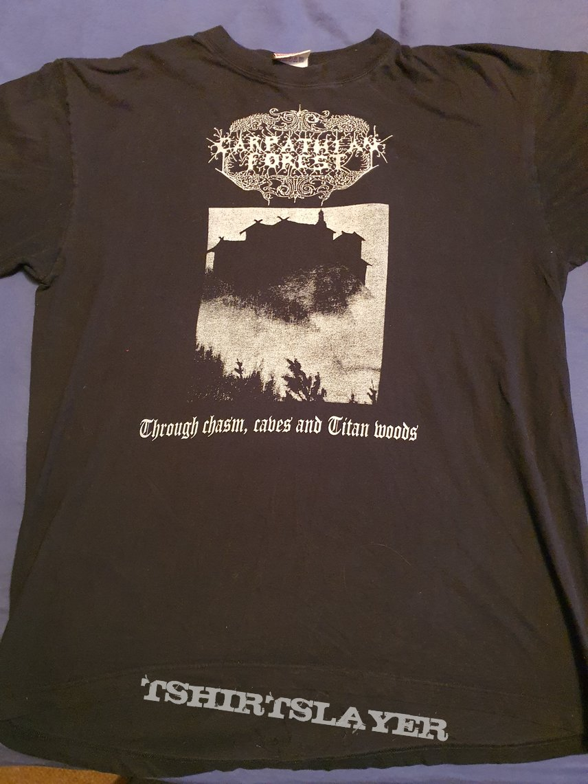 "Carpathian Forest ""Through chasm..."" 1995 shirt"