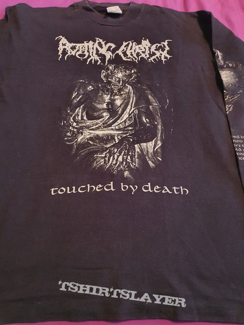 """Rotting Christ """" Triarchy..."""" 1996 tour longsleeve"""