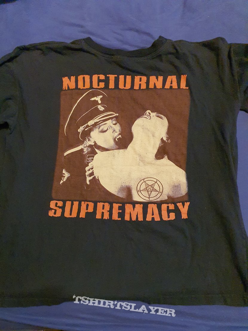 """Cradle of Filth """"Nocturnal Supremacy """" 1994  MIM longsleeve"""