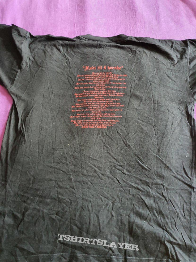"""Mortiis """" Tårnet´s Krigere """" 1994 shirt"""
