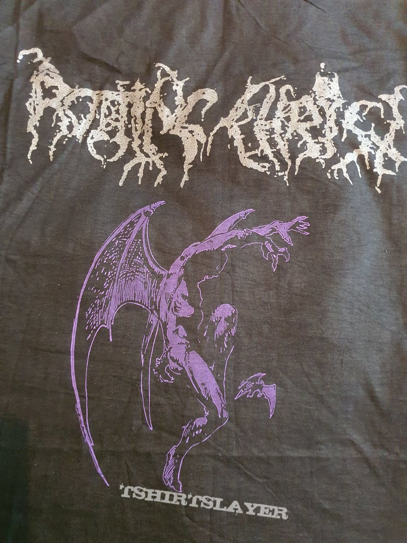 "Rotting Christ "" Blue Demon "" 1994 shirt"