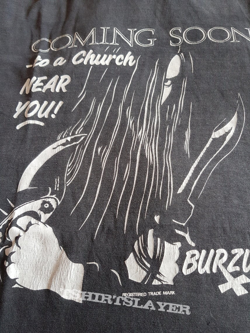 "Burzum ""Coming Soon...""  1994 original first print shirt"