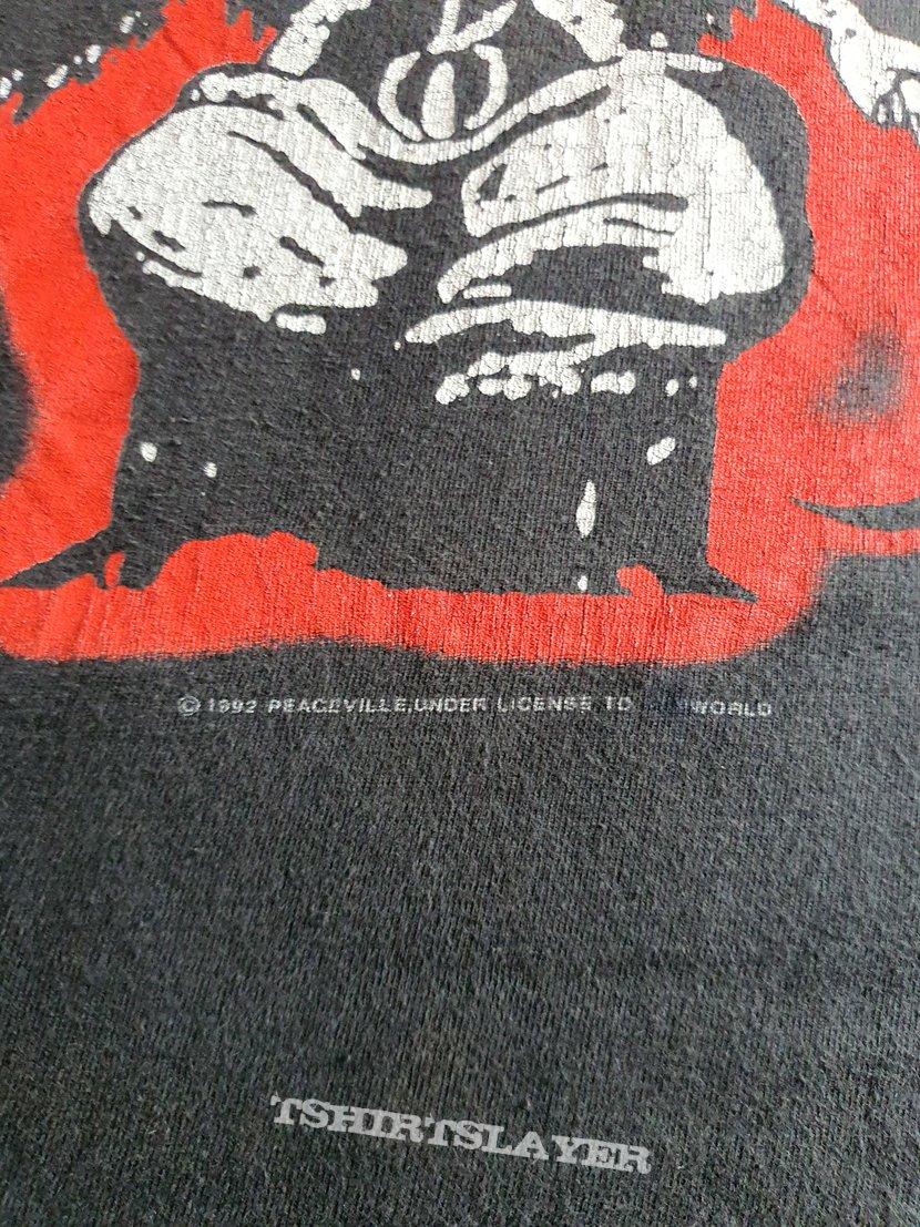 """Darkthrone """"As wolfs..."""" 1992 shirt"""
