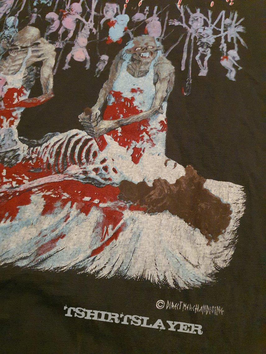 "Cannibal Corpse ""Butchered at Birth"" 1991 shirt"