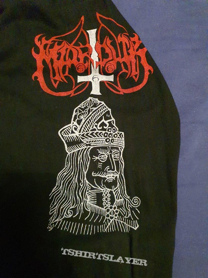 """Marduk """"Dracul Va Domni din Nou"""" 1995 longsleeve"""