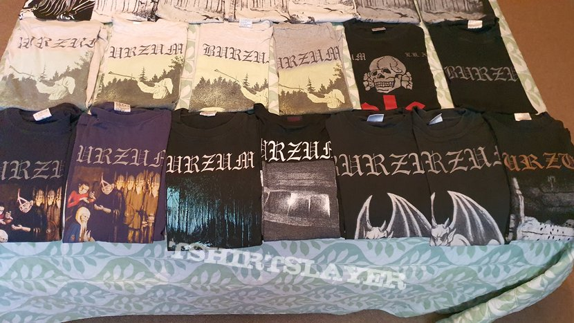 Burzum collection in it's entirety
