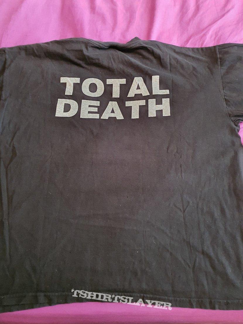 """Darkthrone """"Total Death"""" 1996 shirt ( misprint )"""