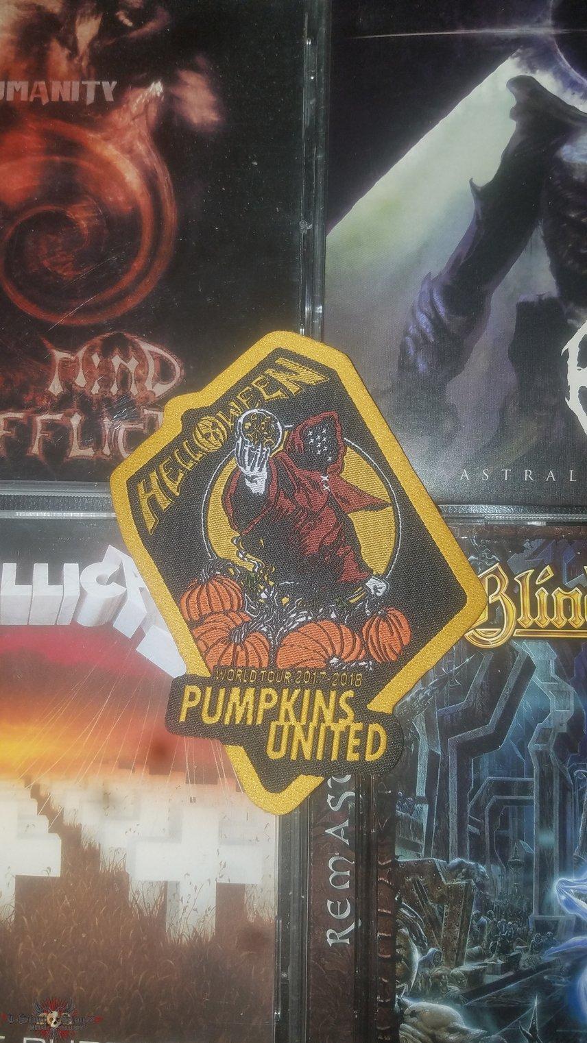 dec6082c Helloween- Pumkins United Patch | TShirtSlayer TShirt and ...