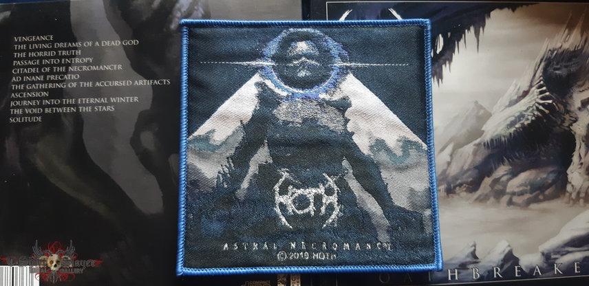 "Hoth -""Astral Necromancy"" woven patch"
