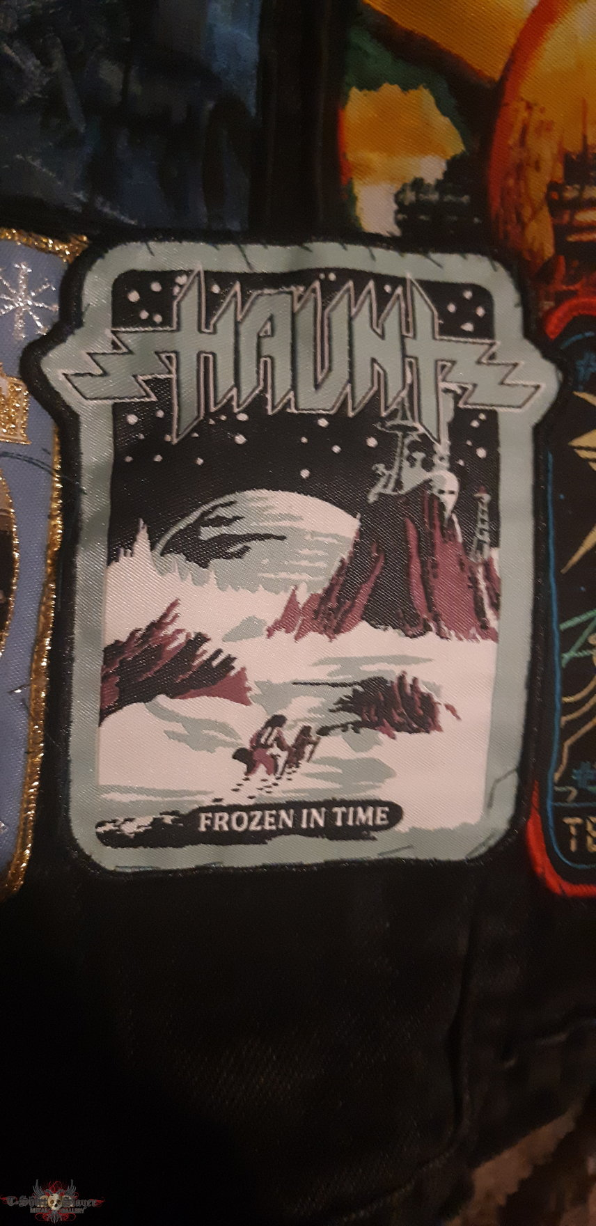 "Haunt ""Frozen in Time"" patch"