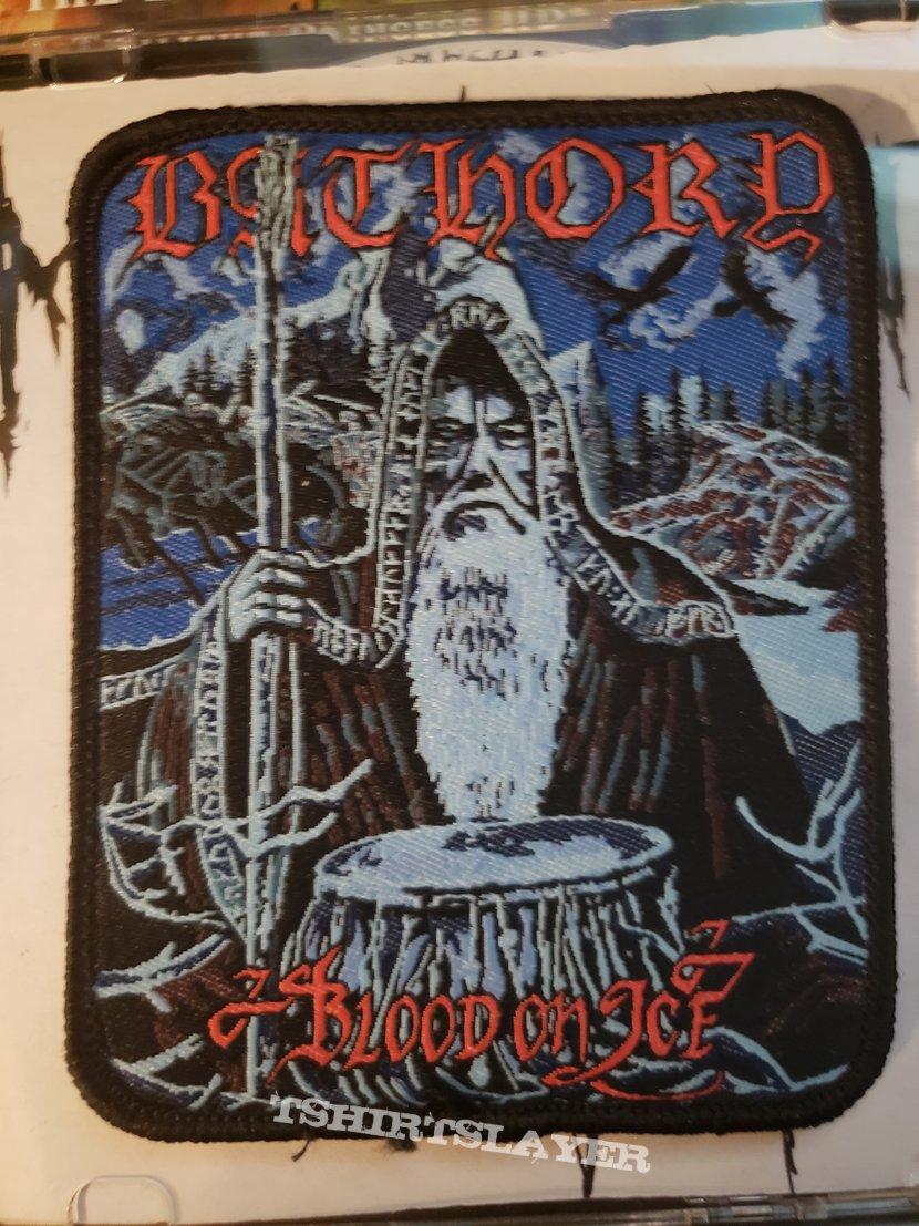 "Bathory ""Blood On Ice"" patch"