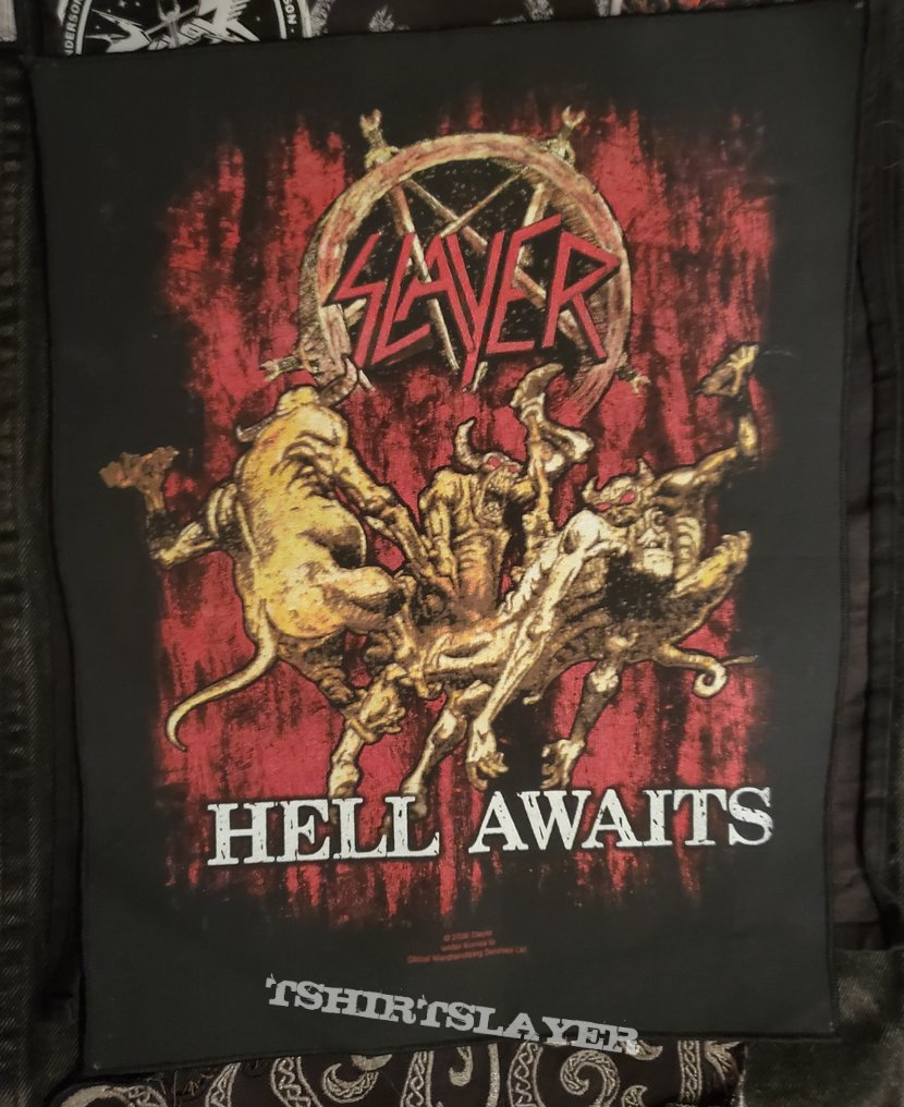 "Slayer - ""Hell Awaits"" Backpatch"