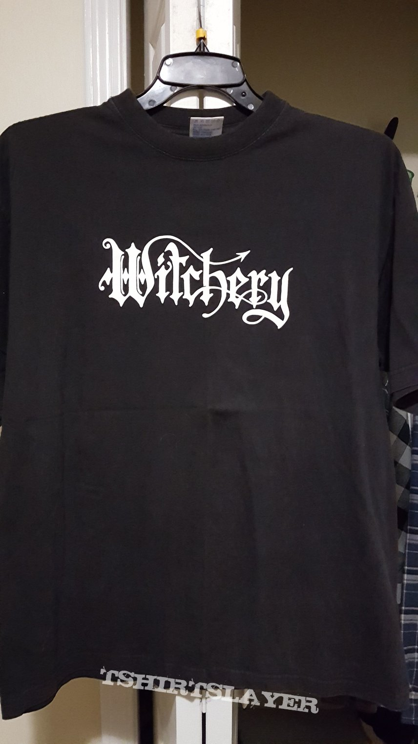 Witchery - Dead, Hot and Live in Europe 2000 tour shirt (XL)