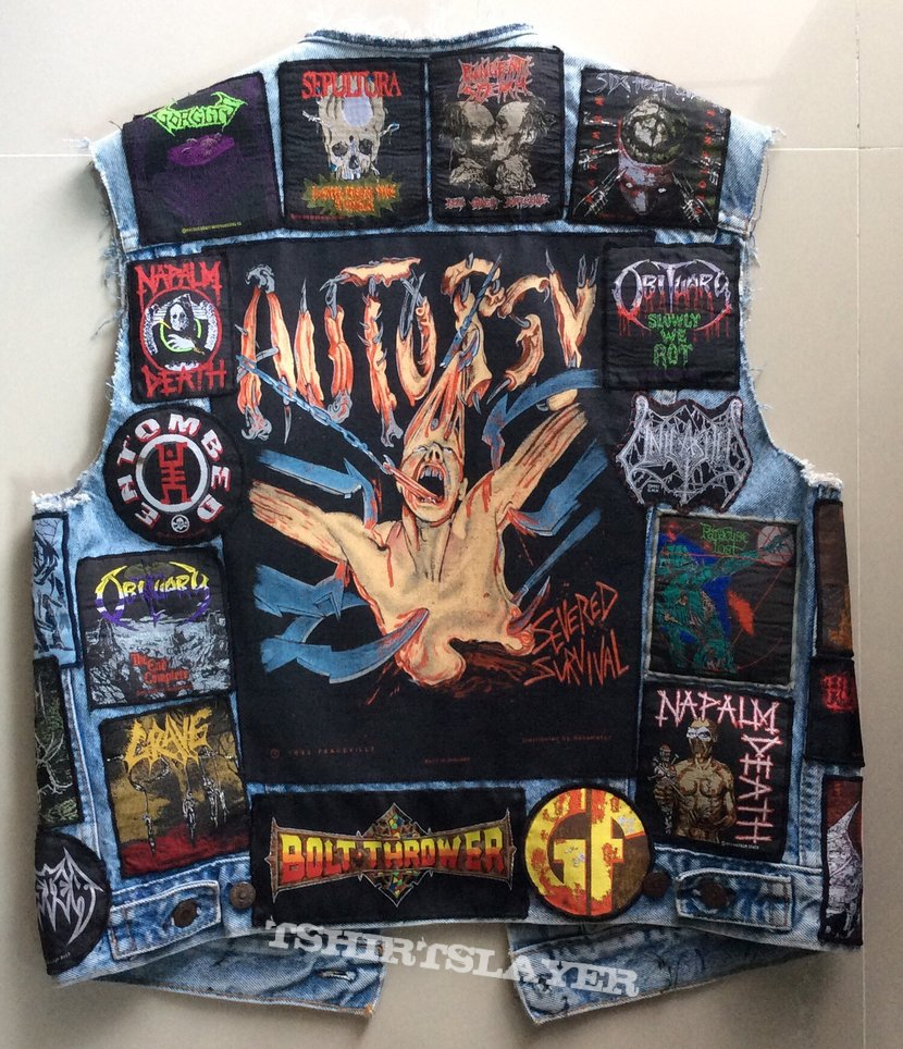 Metal Savage S Autopsy Death Metal Vest Battle Jacket