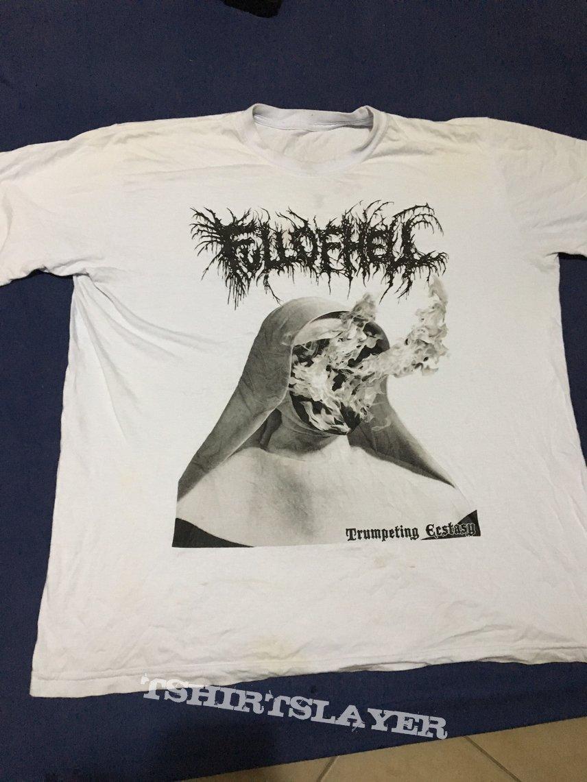 "Full of Hell ""Trumpeting Ecstasy"" White Shirt"