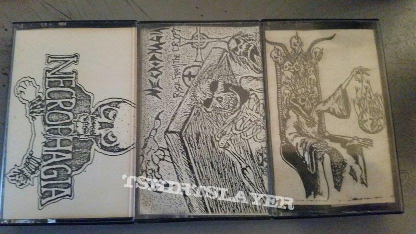 Necrophagia tapes