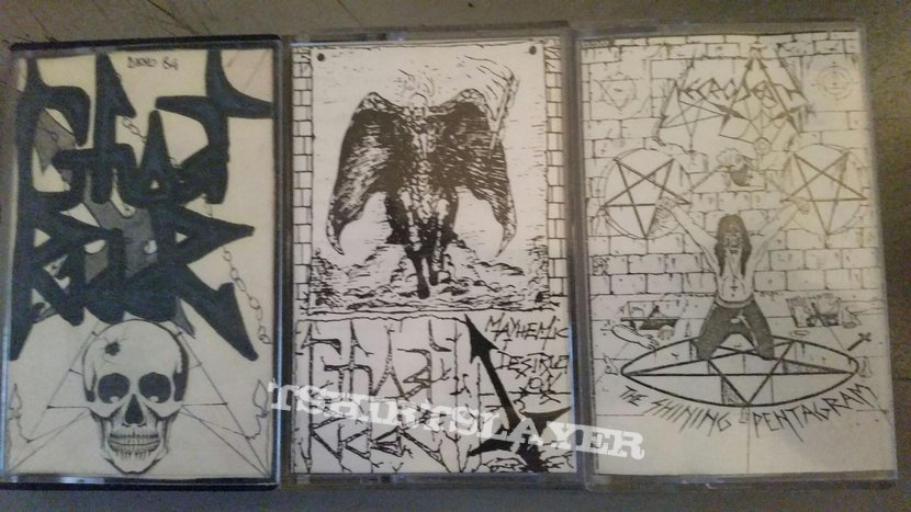 Ghostrider & Necrodeath tapes