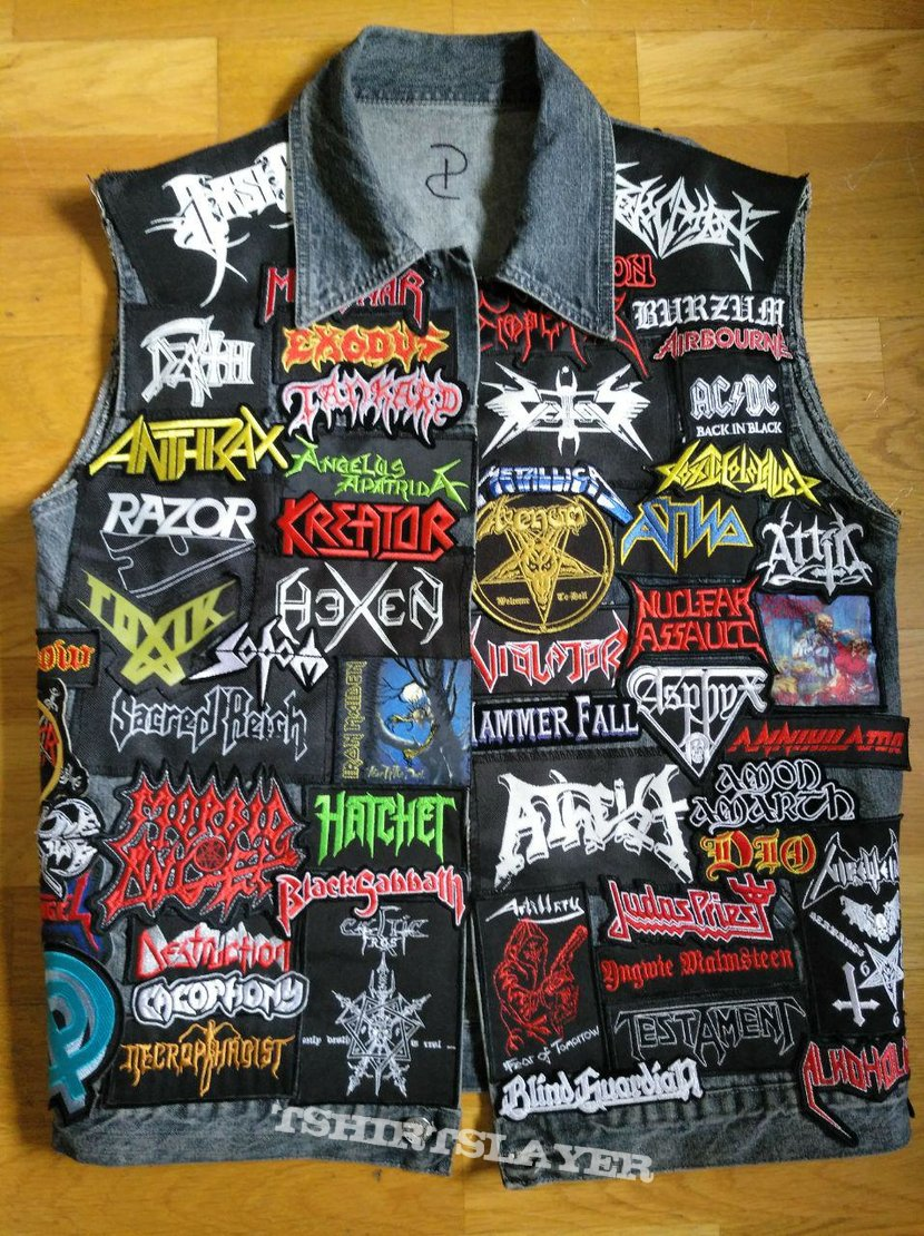 First Battle vest! (back unfinished)