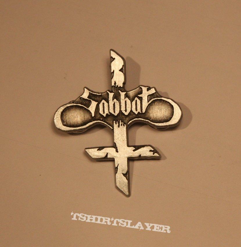 Sabbat - Logo pin badge