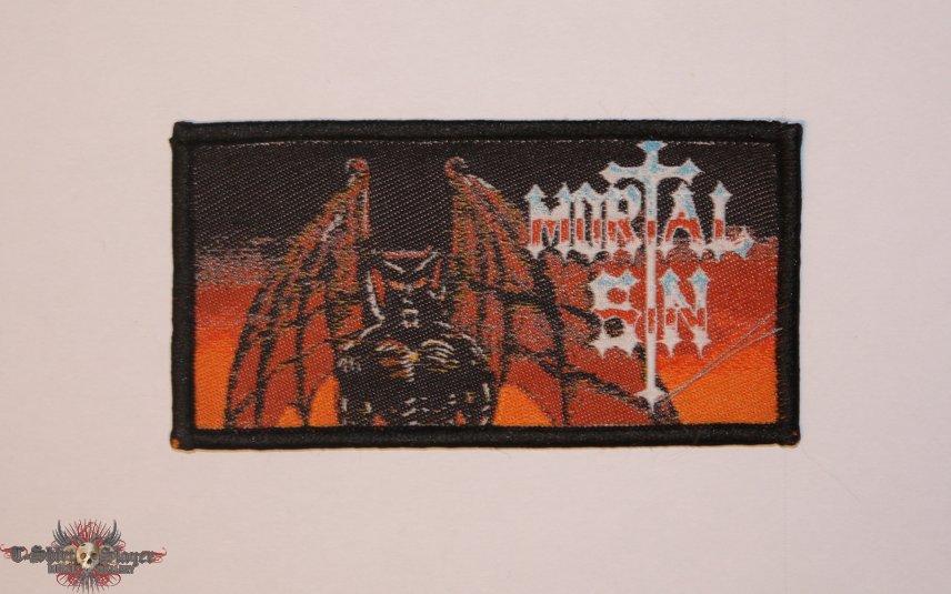 Mortal Sin - Mayhemic Destruction Woven patch