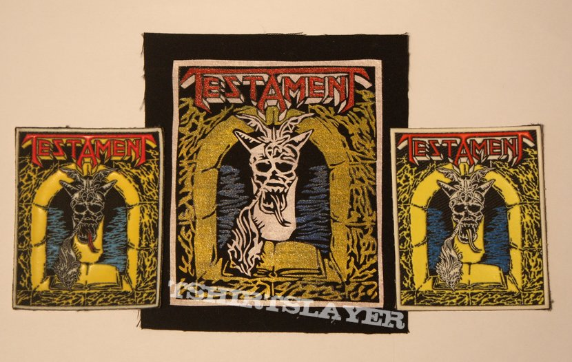 Testament - The Legacy Rubber and DIY patches